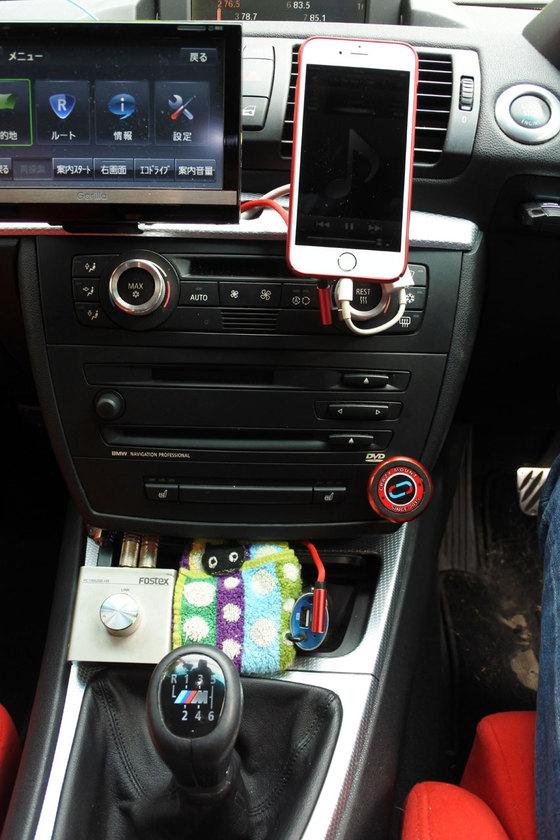 BMW 130i E87 iDriveと切り替え可能で究極のハイレゾシステムを組む。その2