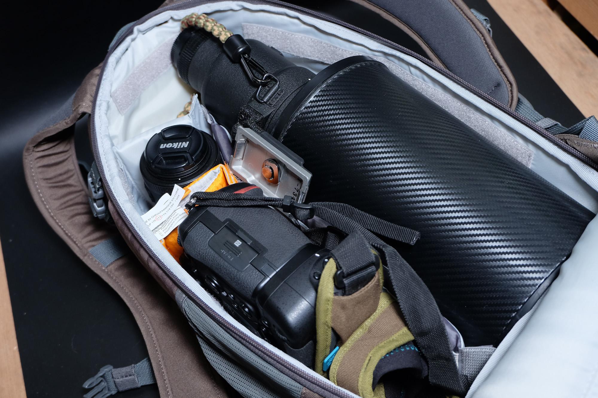 ゴーヨンが入る最小のカメラバック(カメラリュック)Lowepro Flipside300AWⅡ フィリップサイド300AW2 購入レビュー