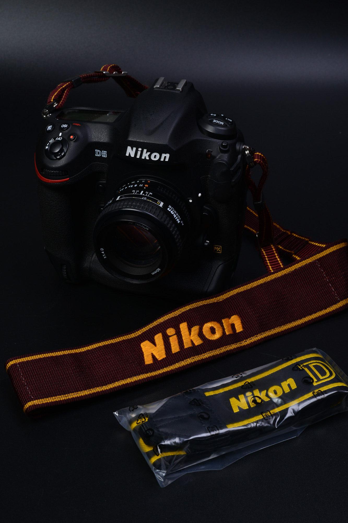 Nikon D5 購入 D4からD5に更新しました。