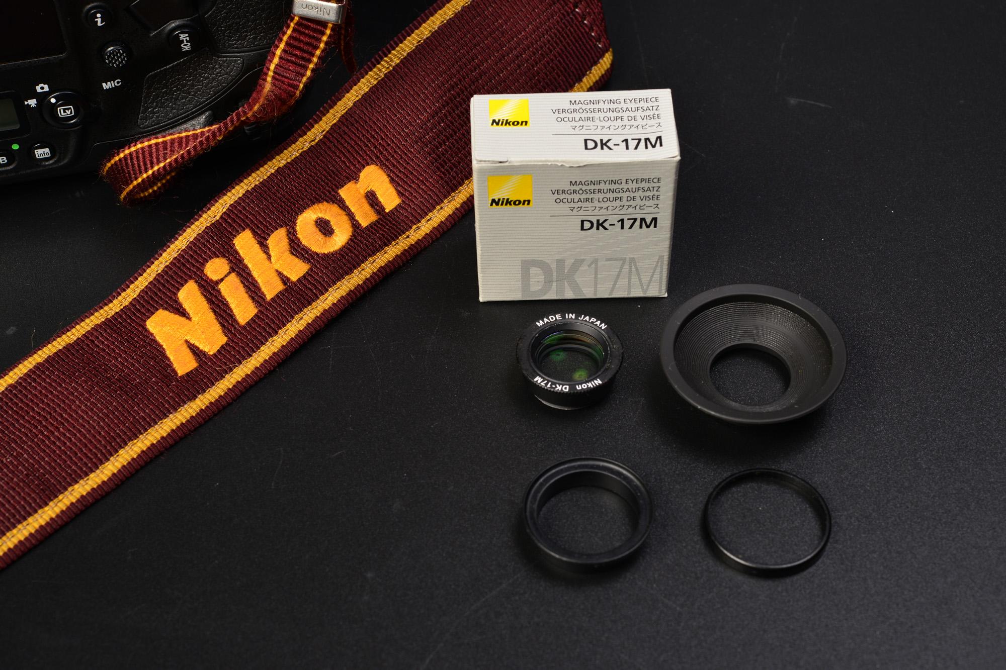 マグニファイヤーアイピース Nikon DK-17M D5 取り付け方とレビュー ニコン 丸窓 ファインダー