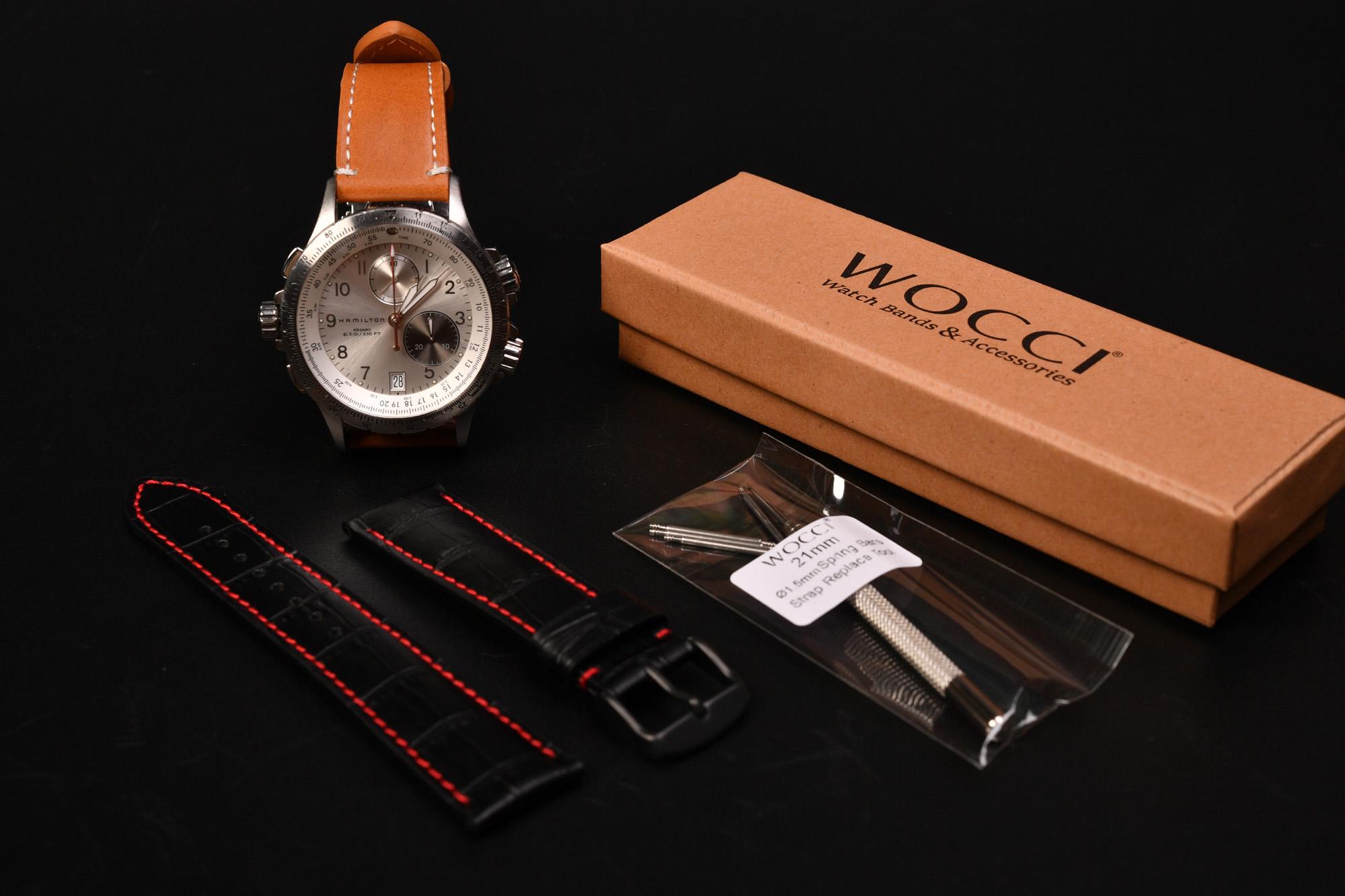HAMILTON KHAKI E.T.O. H776220 またベルト交換しました。 DIY時計ベルト交換