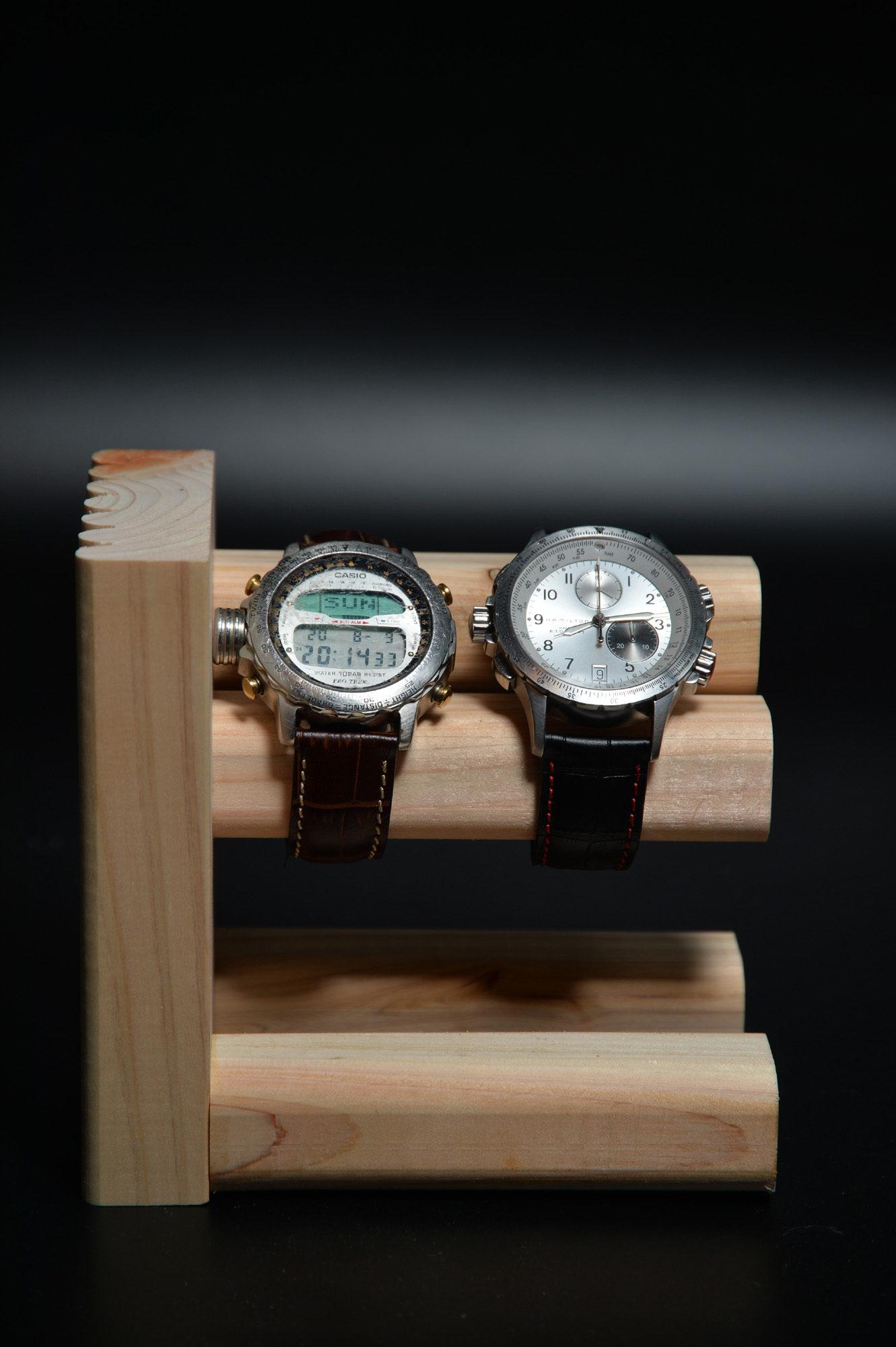 腕時計スタンド自作してみた。 DIY 腕時計スタンド