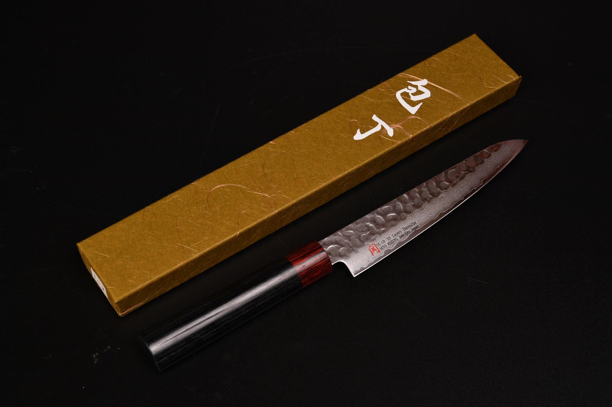 伊勢谷 治平 (いせや じへい) ペティナイフ 15cm (150mm) 伊勢屋 関の刃物 購入 レビュー