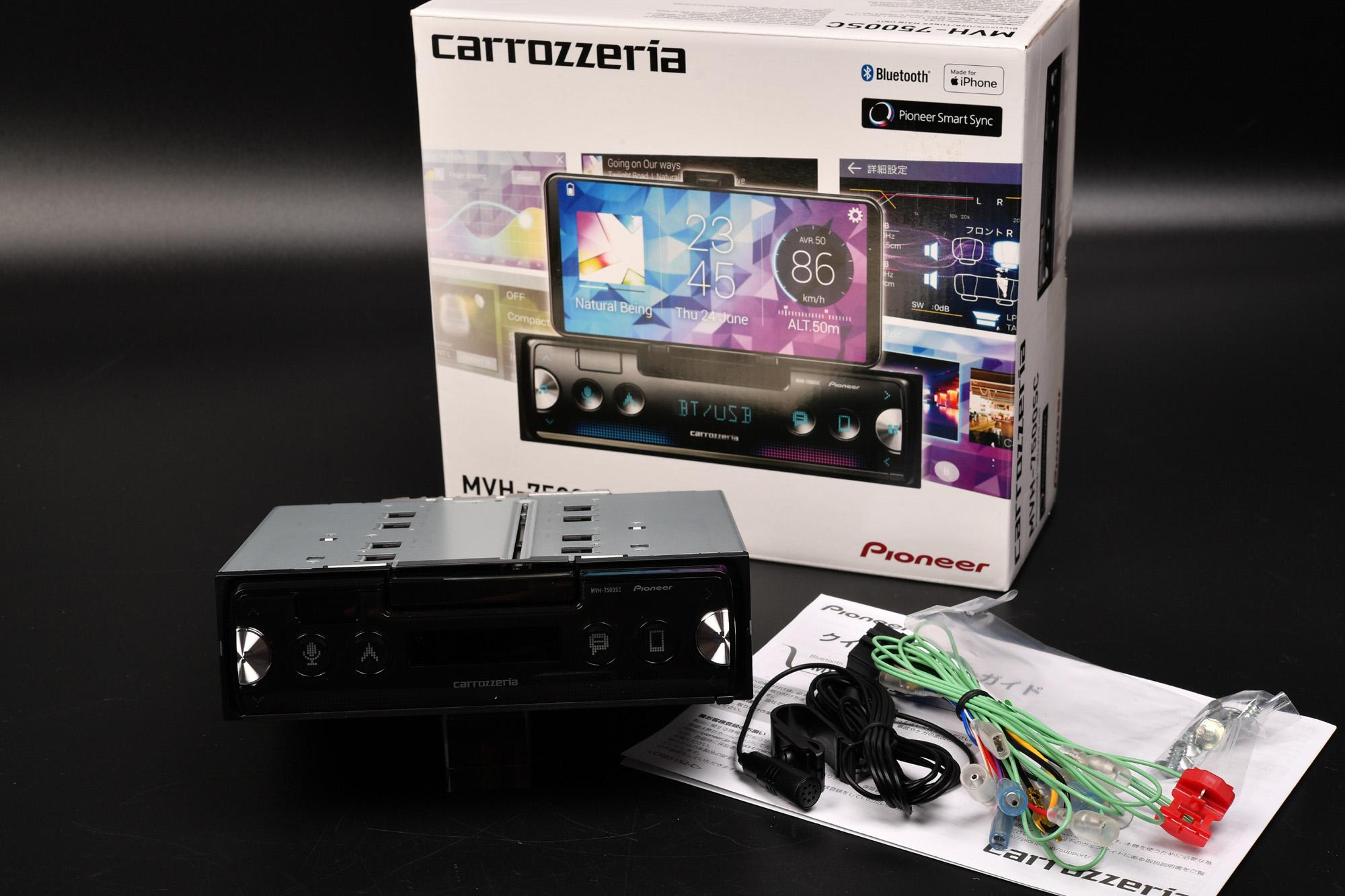 カロッツェリア(パイオニア)  MVH-7500SC 購入レビュー