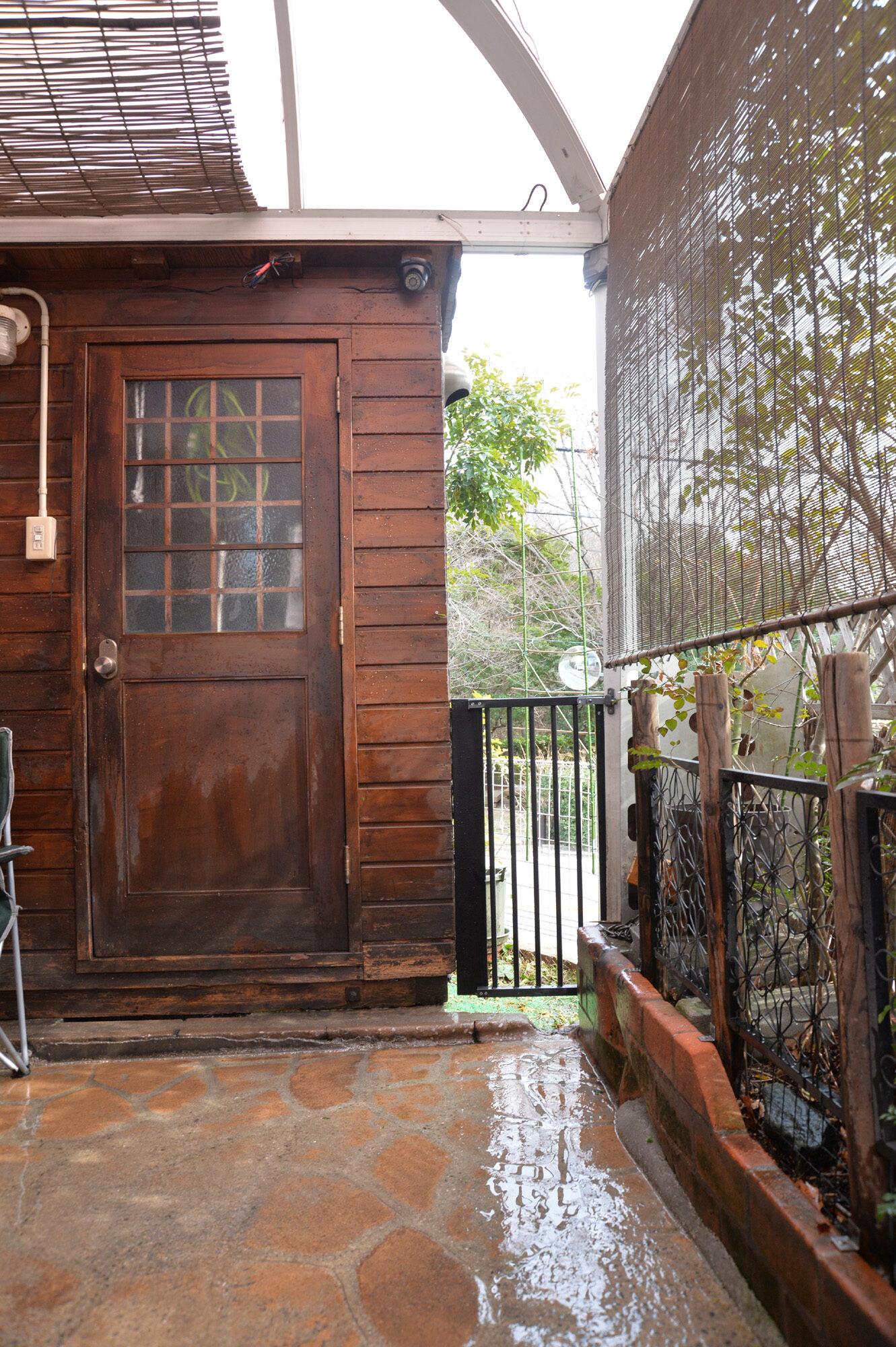 犬用フェンスの扉 DIY