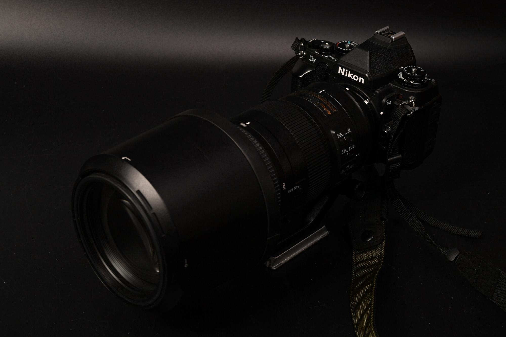 AF-S NIKKOR 200-500mm F5.6E ED VR ついに分解を決意。