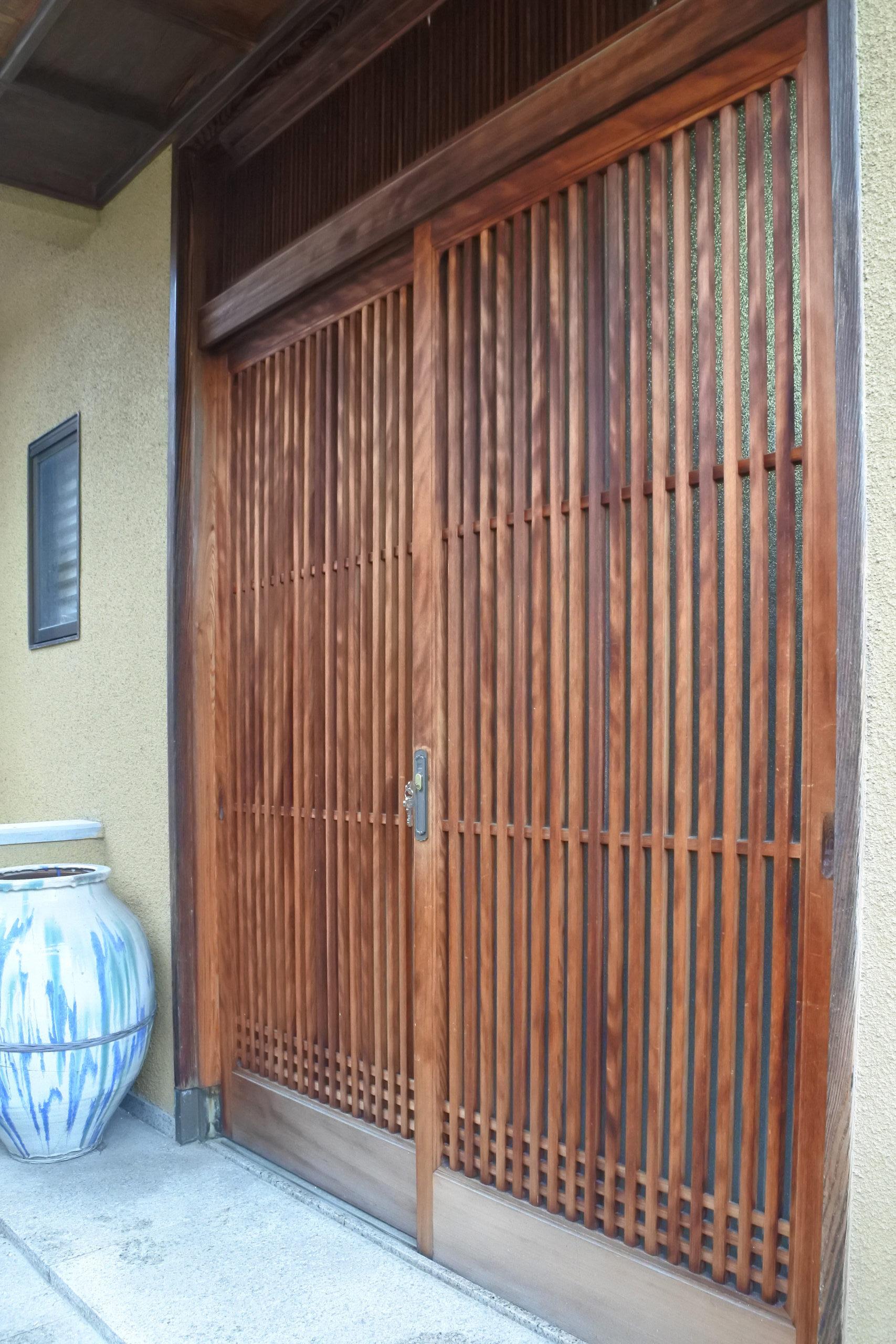 木製引き戸の鍵交換 DIY