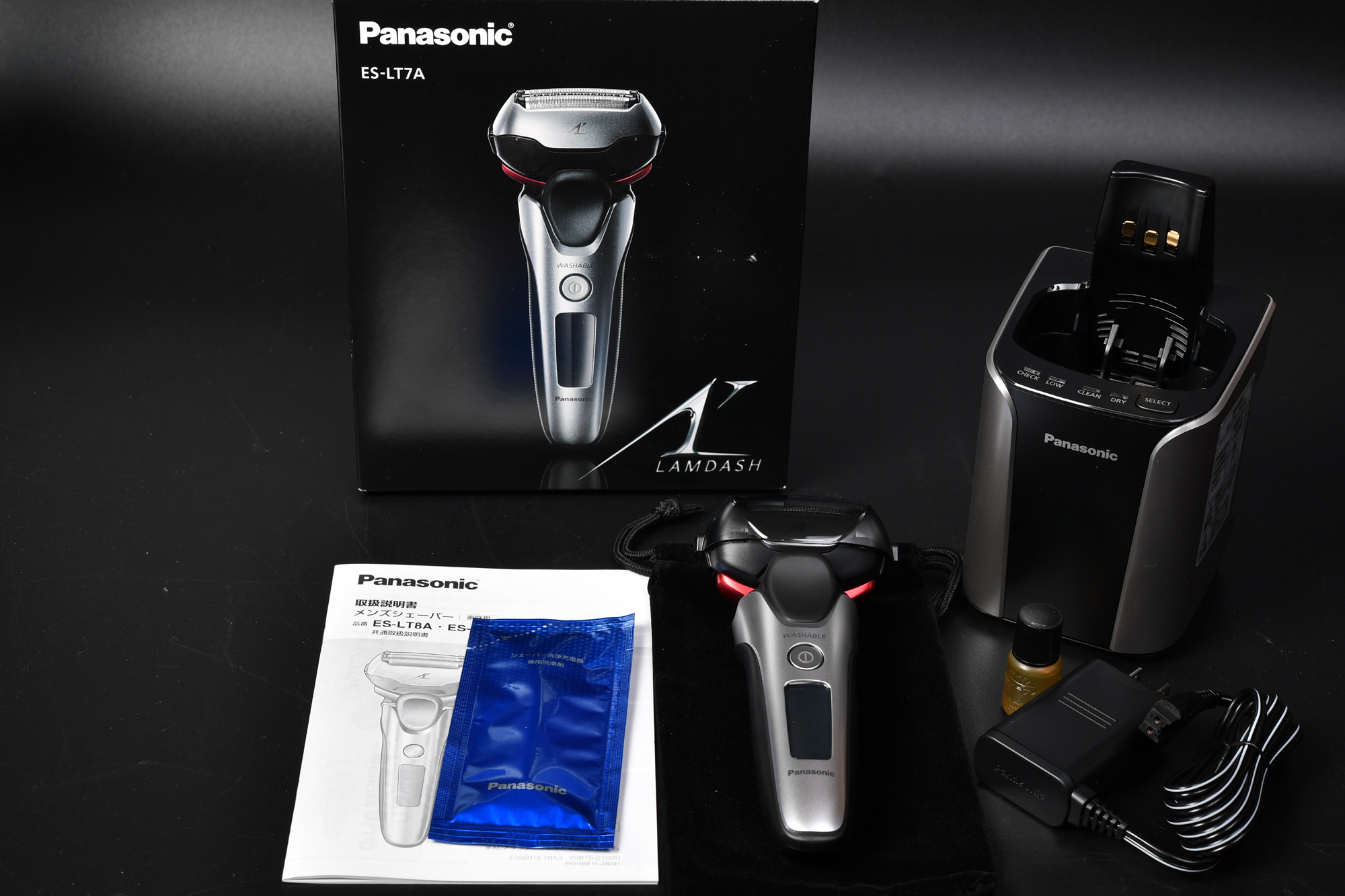 Panasonic 3枚刃ラムダッシュ ES-LT7A 購入 レビュー
