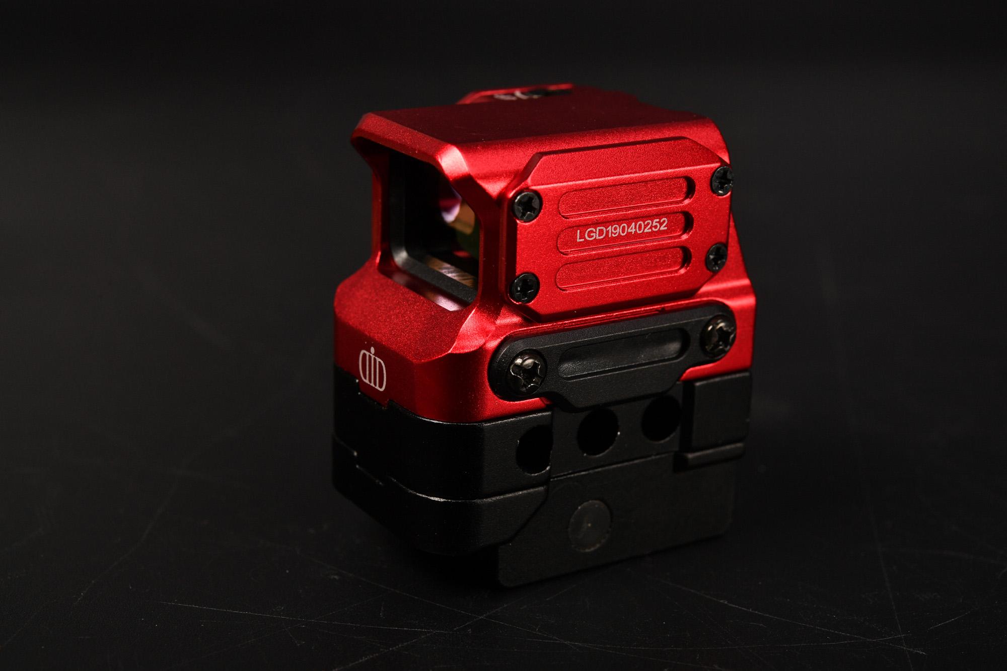 DI OPTICAL USAタイプ FC1 レッドドットサイト ホロサイト 購入レビュー 野鳥撮影機材