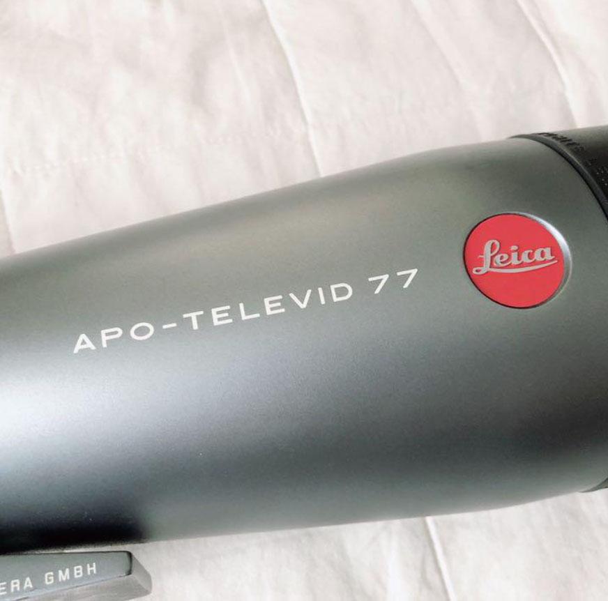 フィールドスコープ Leica ライカ APO-TELEVID 77 安かったので中古購入