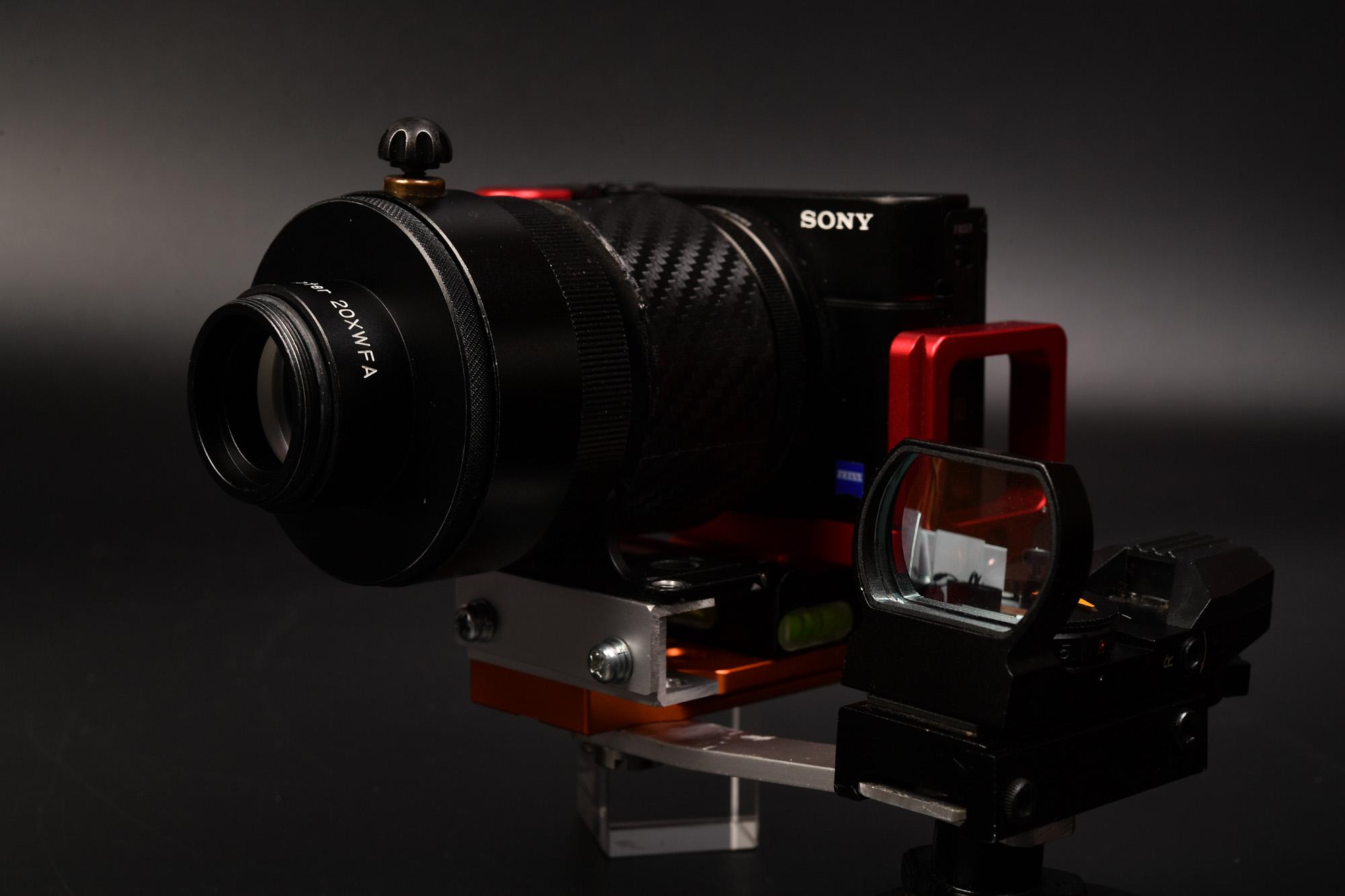 SONY RX100M3 カメラブラケット自作 その2 DIGISCO.COM Tubro Adapter 20XWFA 再購入