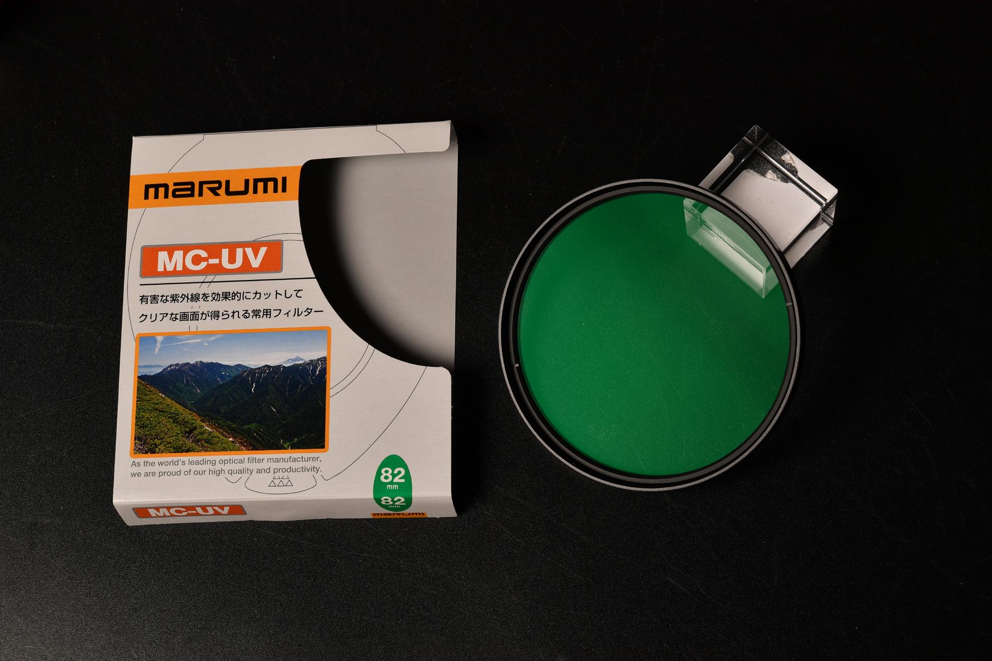 MARUMI UVフィルター 82mm MC-UV 紫外線吸収用 デジスコ用に買ったがサイズ違い!(*_*)