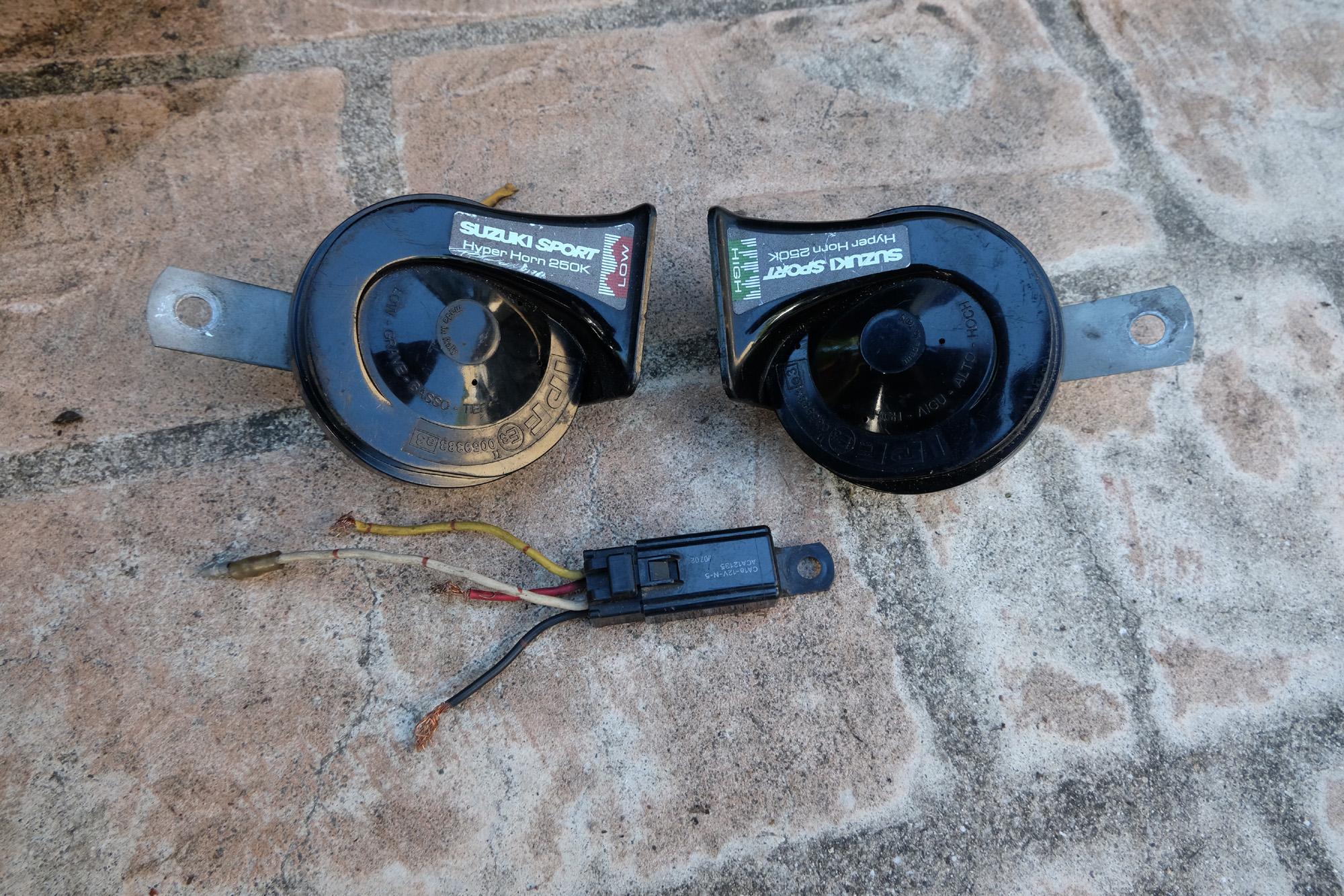 SUZUKI SPORT Hyper Horn ホーンを取付! ビッグホーン UBS26GW