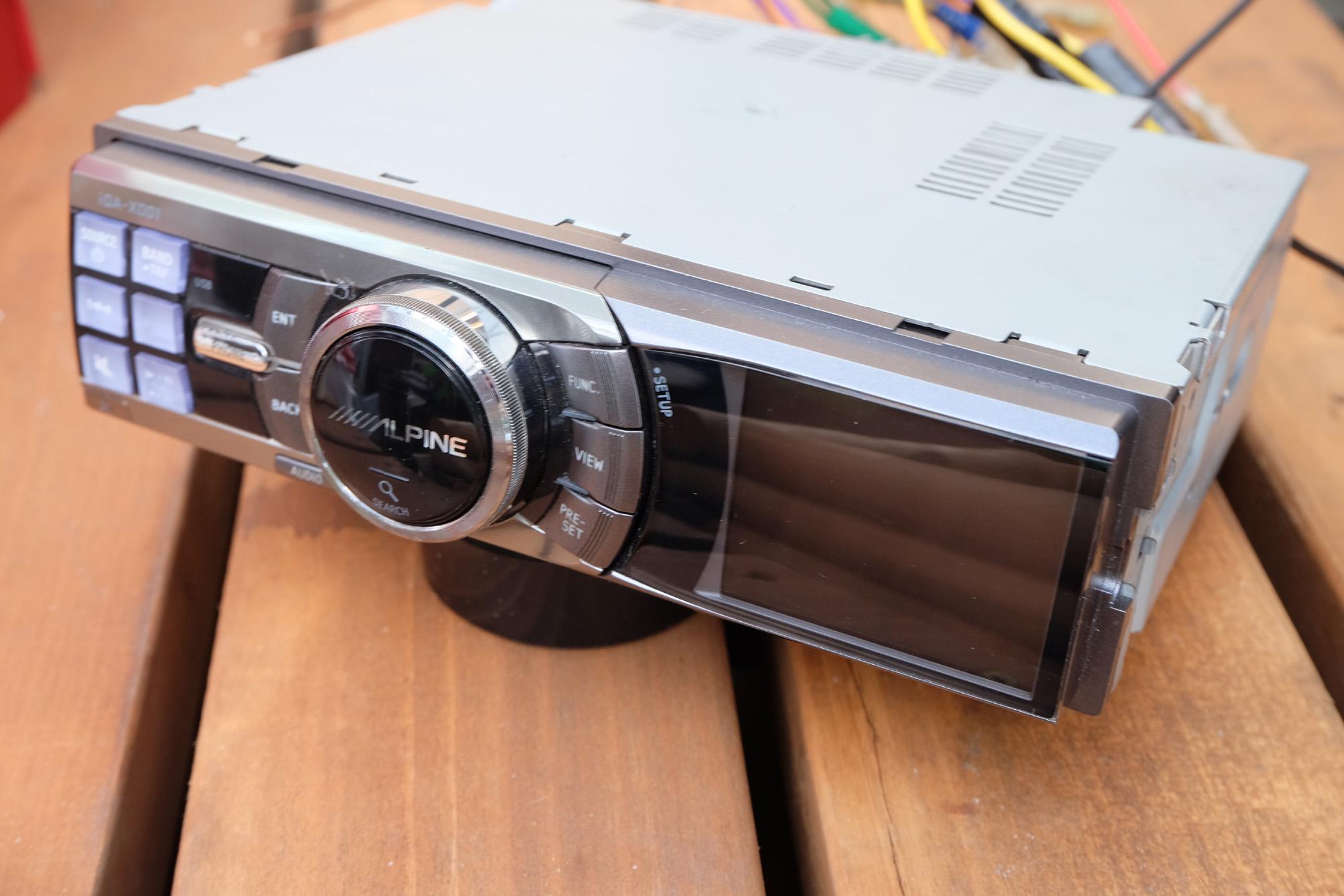 ALPIN iDA-X001 中古購入! iPodが使える~!(^o^) ビッグホーン USB26GW