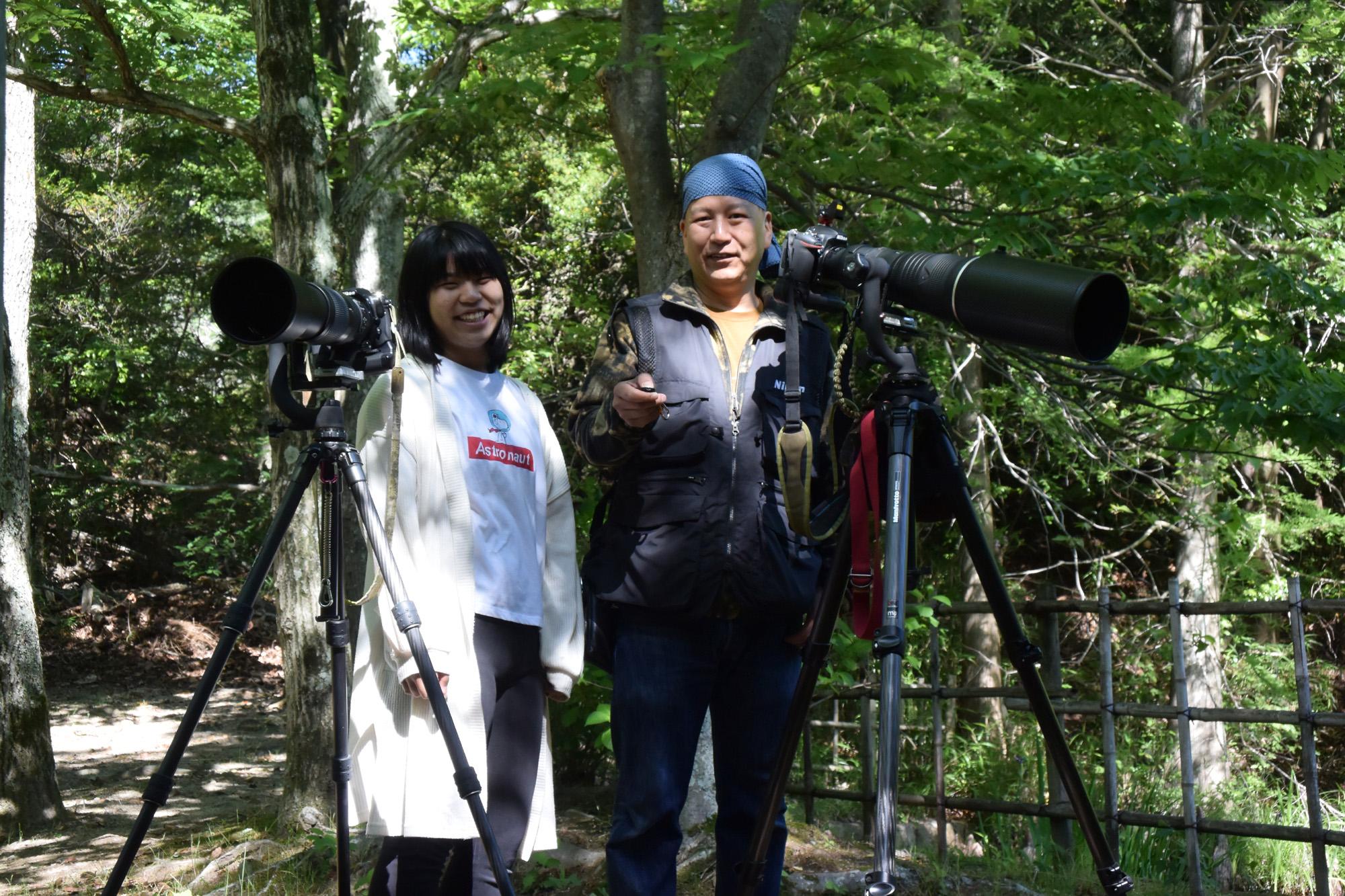 次女と一緒に朝のお散歩! Nikon D300s+AF-S NIKKOR 200-500mm F5.6E ED VR