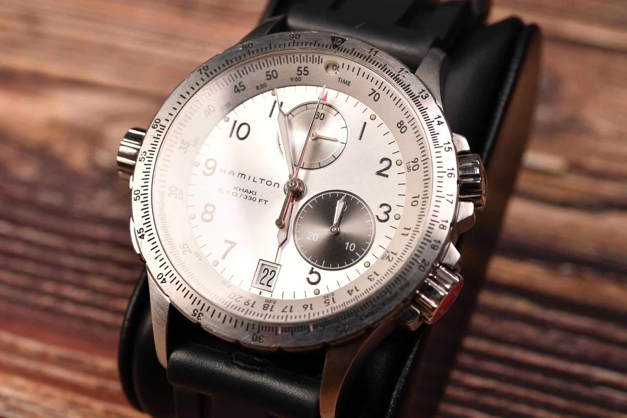 HAMILTON KHAKI E.T.O  H776220(ハミルトン カーキ ETO)腕時計購入しました。