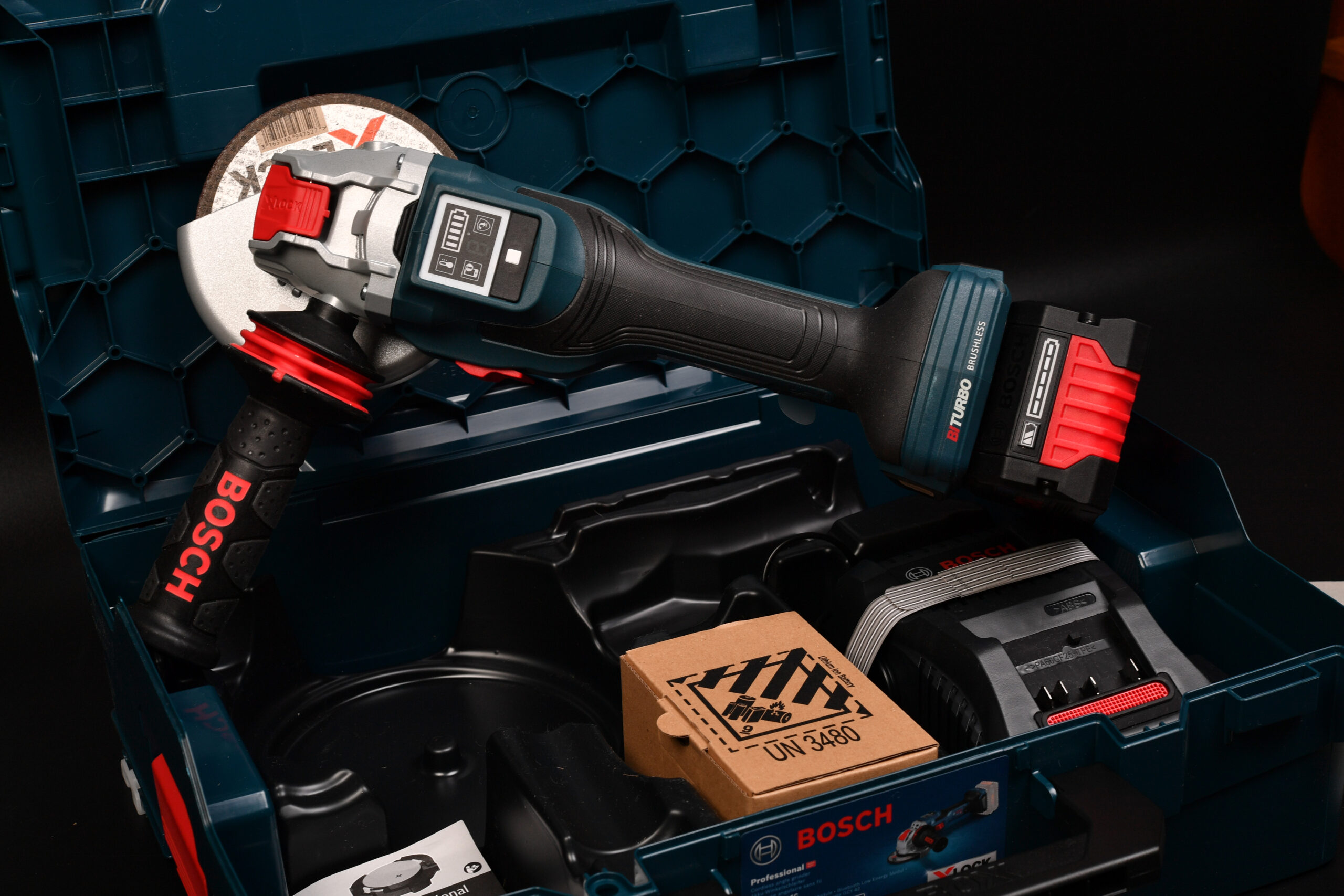 Bosch Professional(ボッシュ) 18V コードレスディスクグラインダー X-LOCK  GWX18V-15SC5J購入 レビュー