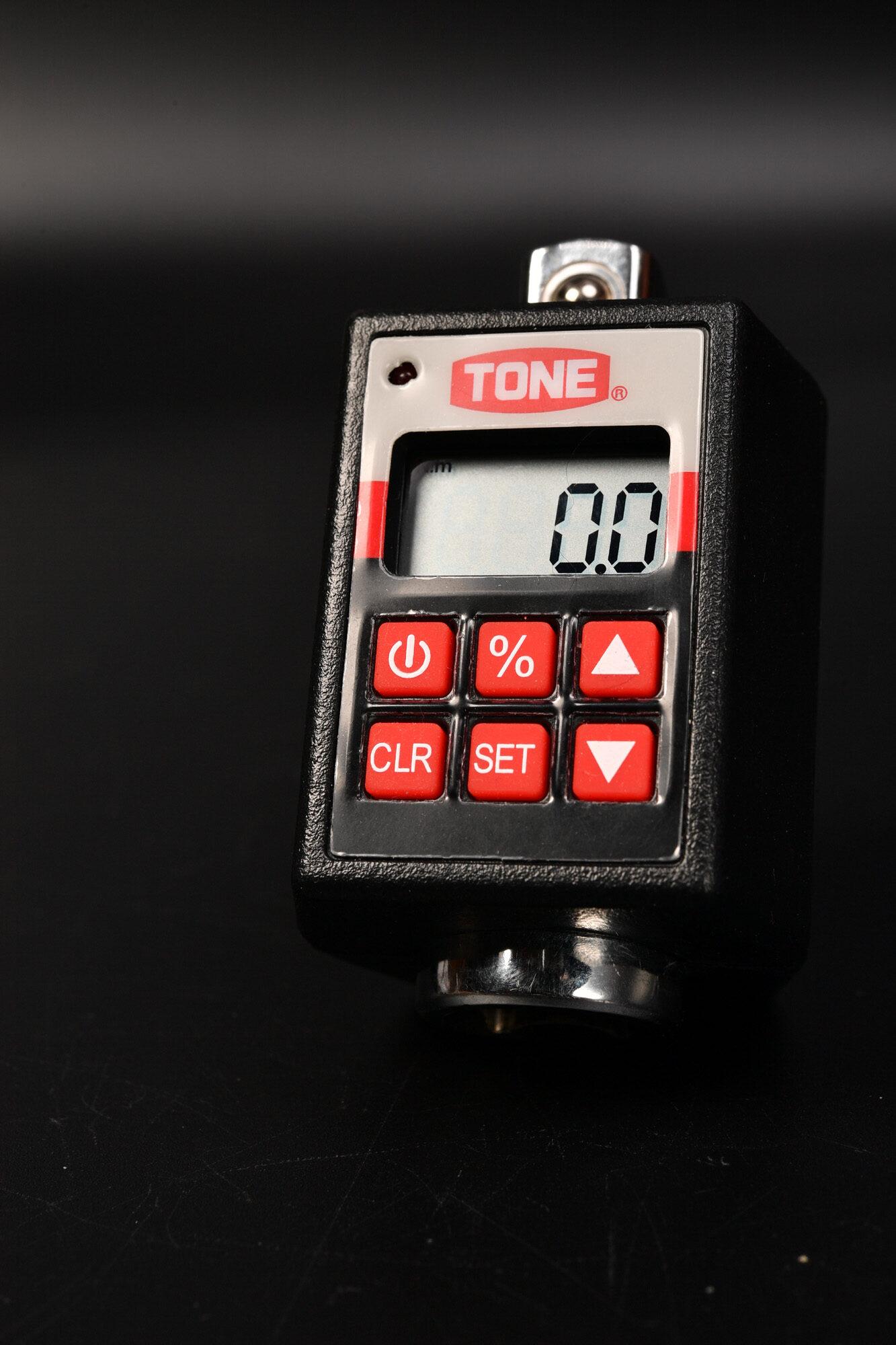 トネ(TONE) ハンディデジトルク H4DT200 東日の古いトルクレンチの値を検証kgf・cmとN・m
