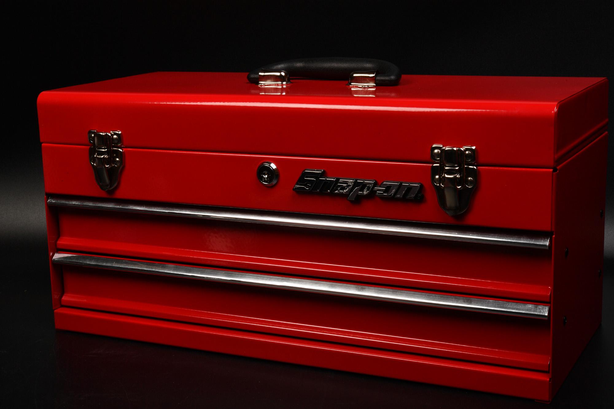 STRAIGHT ツールチェスト 2段式 購入 ツールボックス 工具箱 Snap-on仕様に
