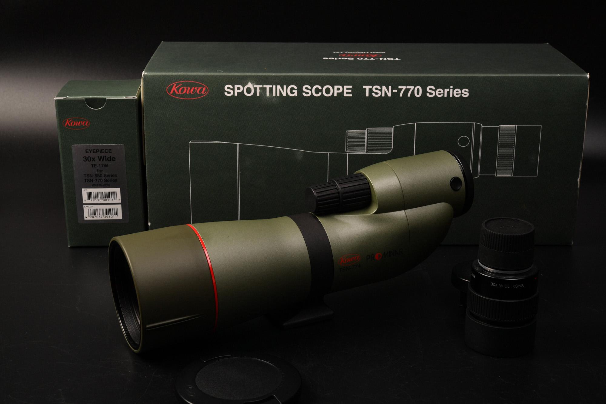 スポッティングスコープ kowa TSN-774 購入 フィールドスコープ デジスコ