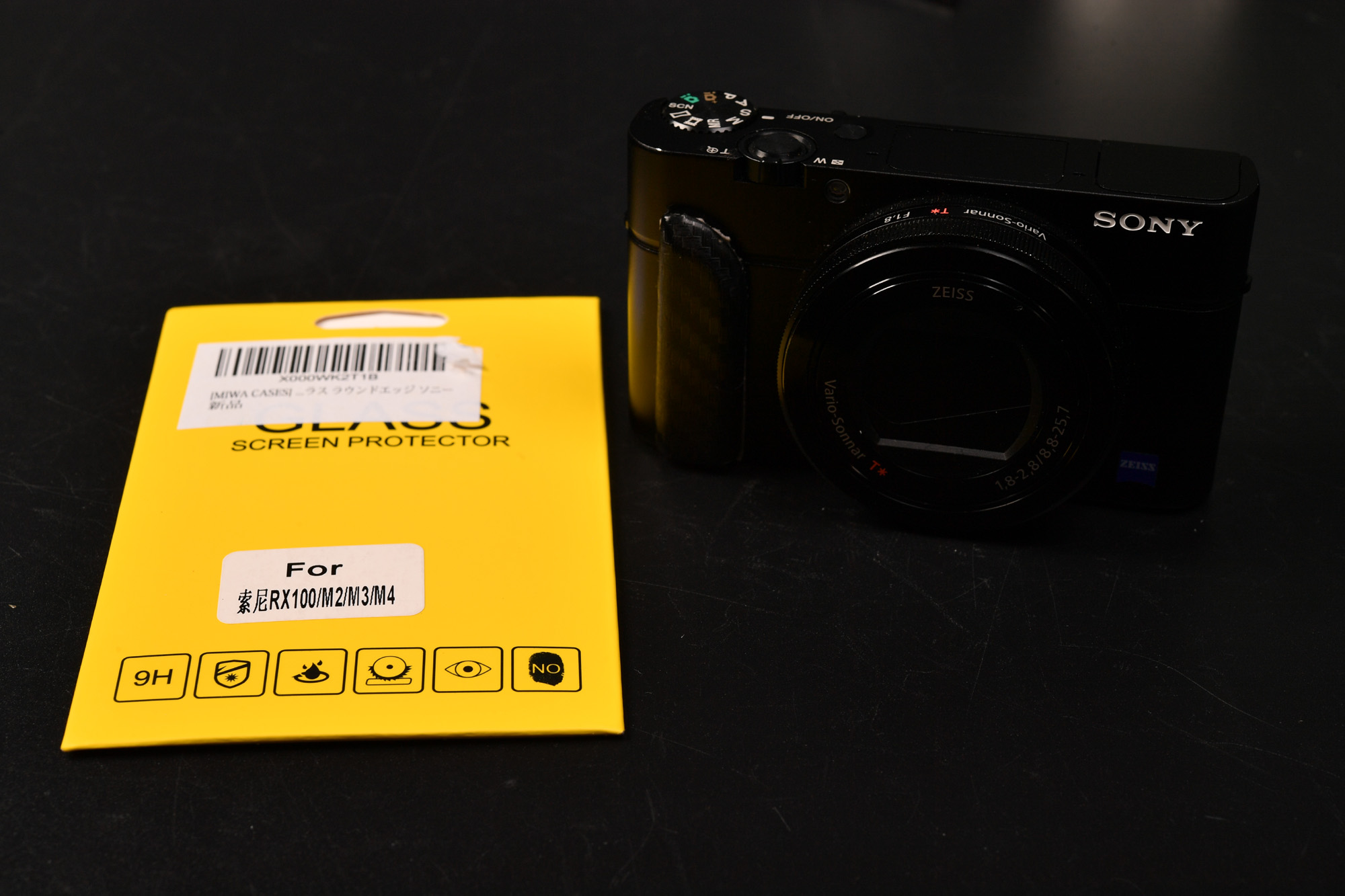 SONY RX100M3 液晶保護ガラス購入 レビュー