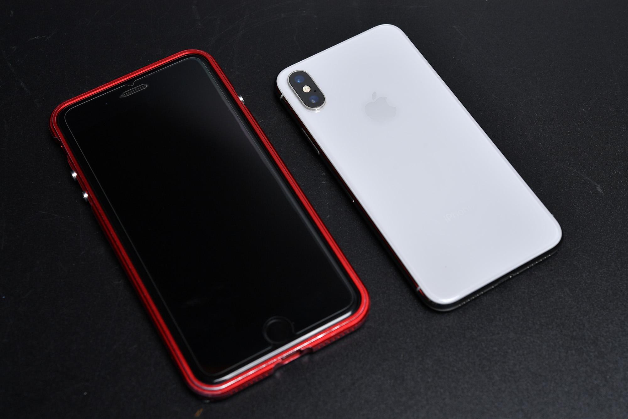 娘のお古 iPhone X 256GB