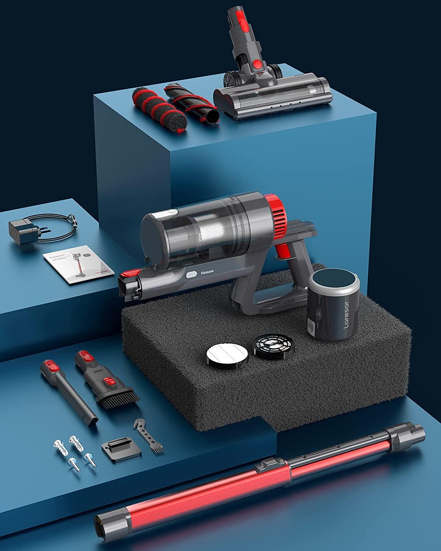 Laresar コードレス掃除機 購入レビュー Dyson V6から買い替え。