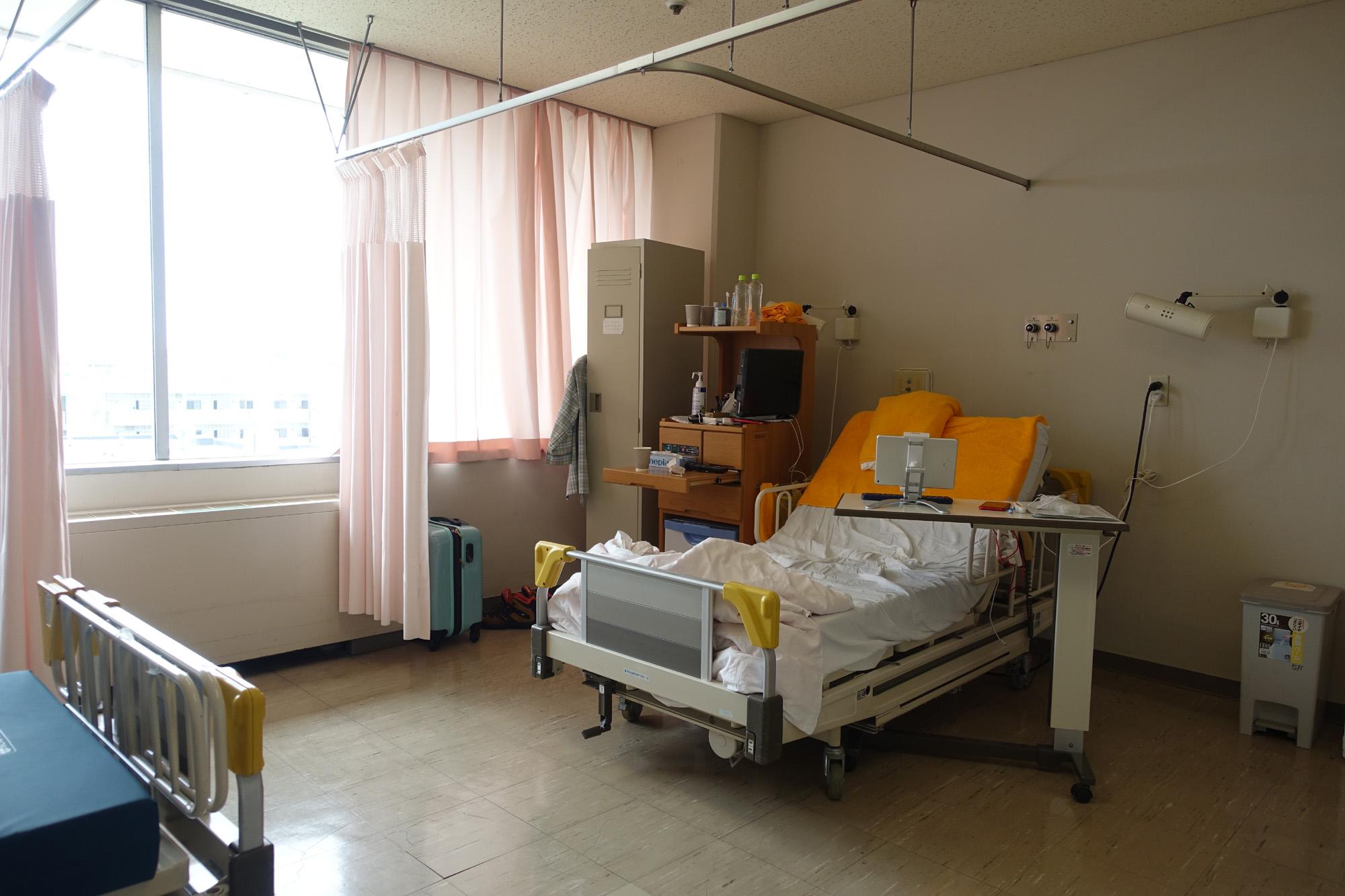 コロナ病棟、無事退院しました。